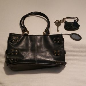 Nine west purse with coin pouch & key chain